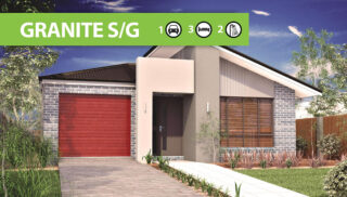 Granite Single Garage