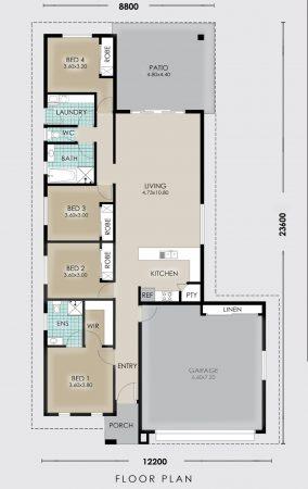 Floor Plan for Yarrabee